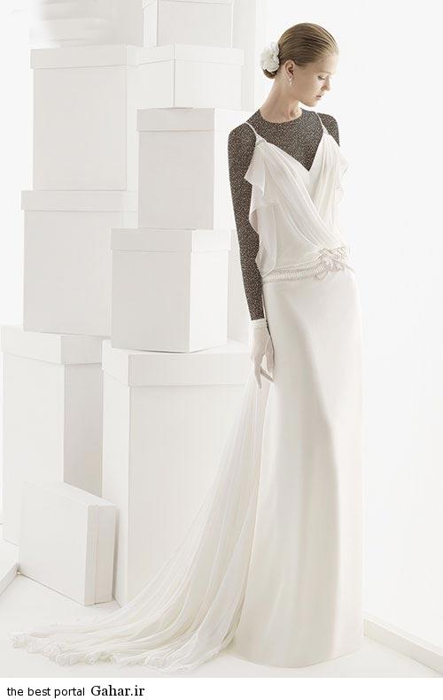 7 2 جدیدترین مدل های لباس عروس ساده 2015
