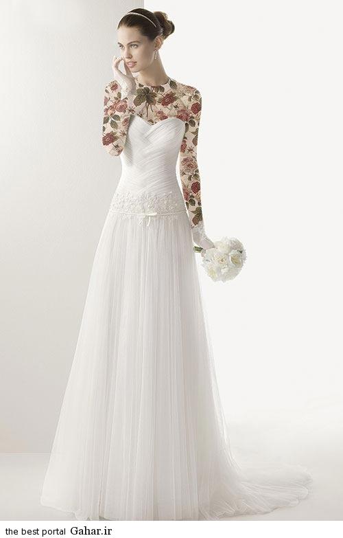 7 4 جدیدترین مدل های لباس عروس ساده 2015