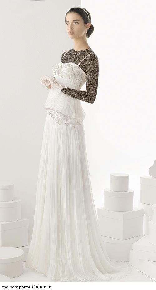 7 6 جدیدترین مدل های لباس عروس ساده 2015