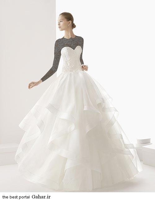 7 7 جدیدترین مدل های لباس عروس ساده 2015