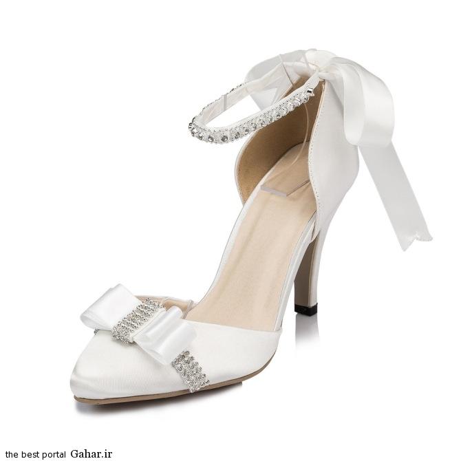 7 82 مدلهای جدید کفش عروس 2015