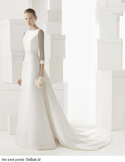 7 9 جدیدترین مدل های لباس عروس ساده 2015