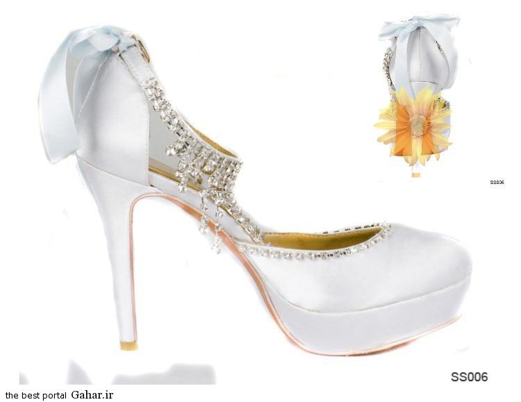 7 91 مدلهای جدید کفش عروس 2015