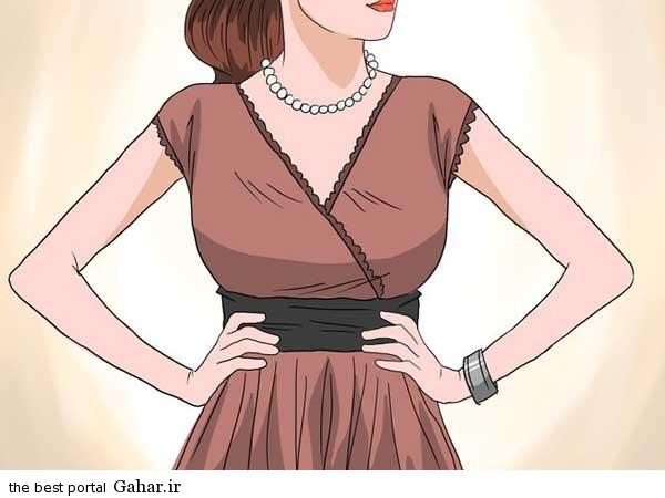 Dress3 نحوه انتخاب لباس برای لاغر نشان دادن
