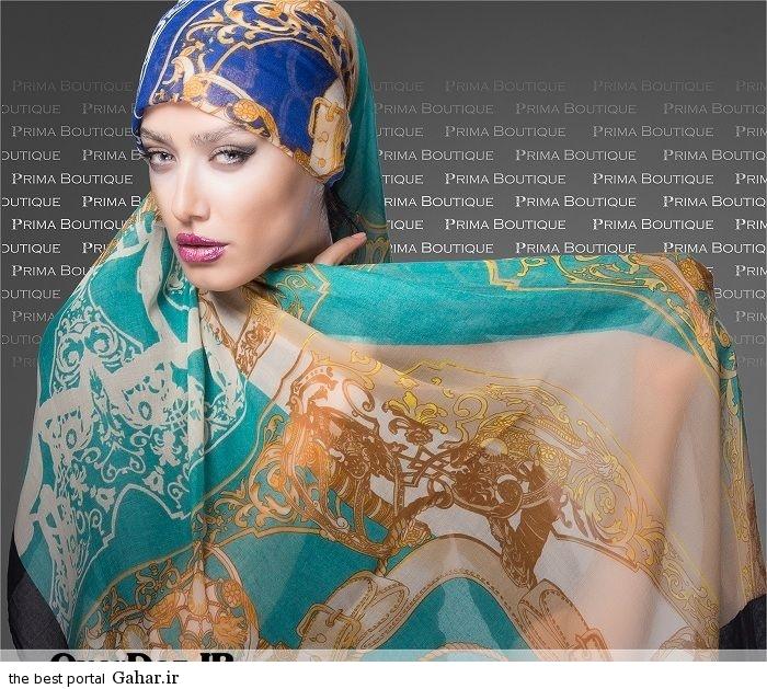 Shaal Summer94 www OverDoz IR 16 جدیدترین مدل های شال 2015