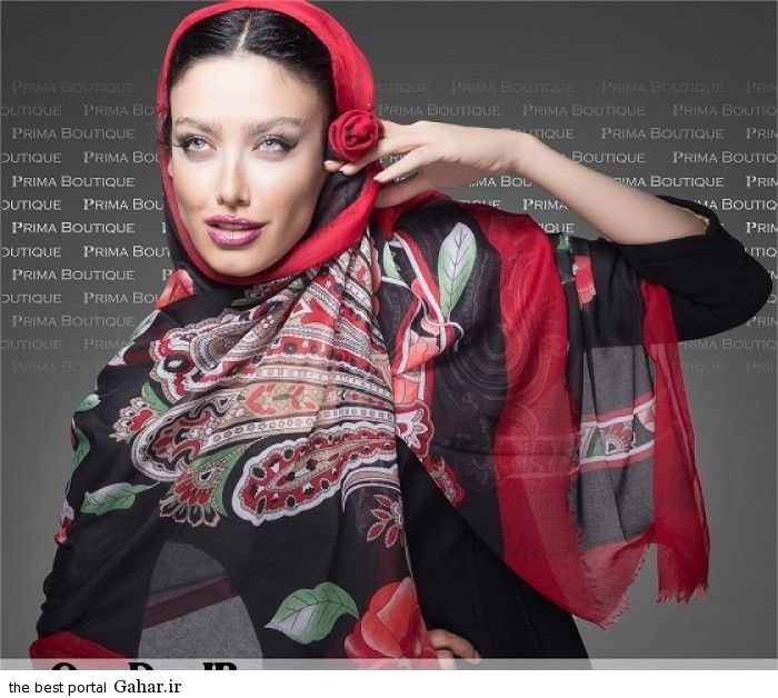Shaal Summer94 www OverDoz IR 9 جدیدترین مدل های شال 2015
