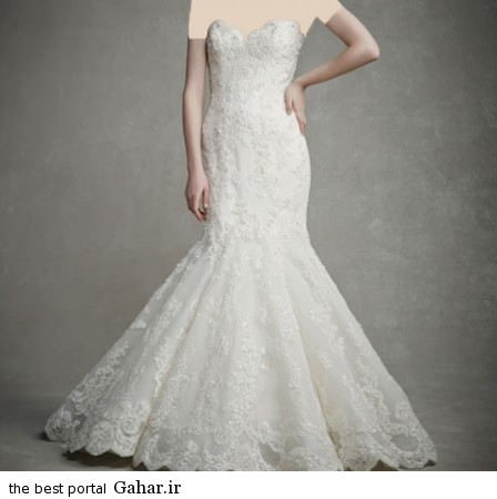 mo17335 448x450 جدیدترین مدل های لباس عروس 2015