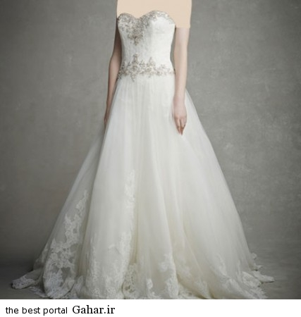 mo17337 427x450 جدیدترین مدل های لباس عروس 2015