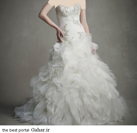 mo17338 450x438 جدیدترین مدل های لباس عروس 2015