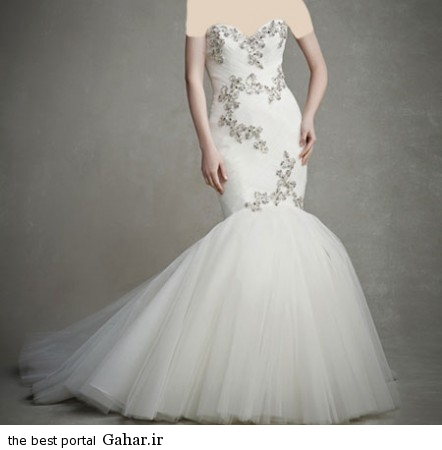 mo17340 442x450 جدیدترین مدل های لباس عروس 2015
