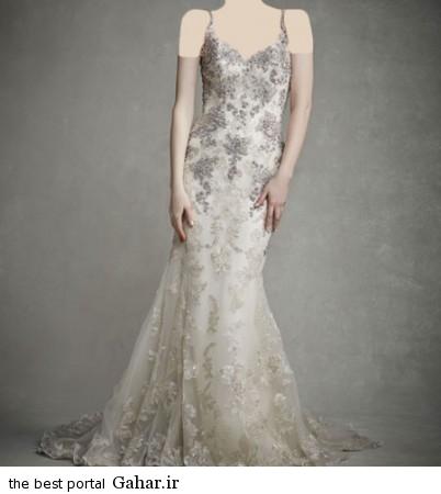 mo17344 402x450 جدیدترین مدل های لباس عروس 2015