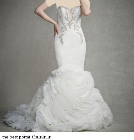mo17345 429x450 جدیدترین مدل های لباس عروس 2015