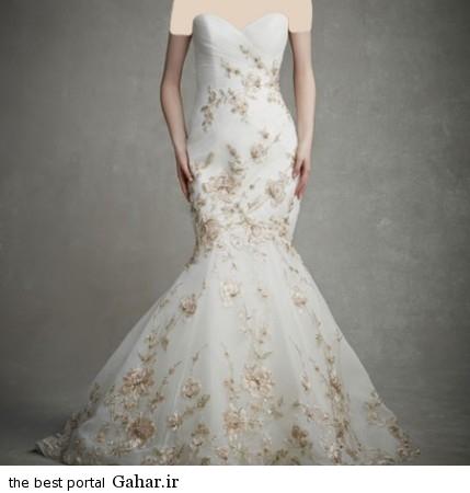 mo17346 429x450 جدیدترین مدل های لباس عروس 2015