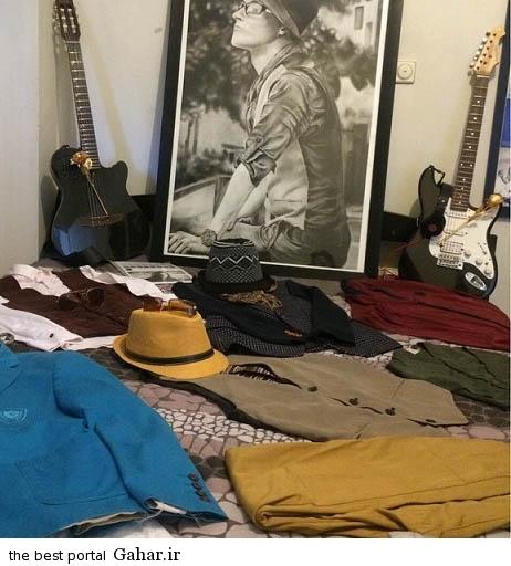 mpashaei عکس های اتاق مرتضی پاشایی و یادگاری های او