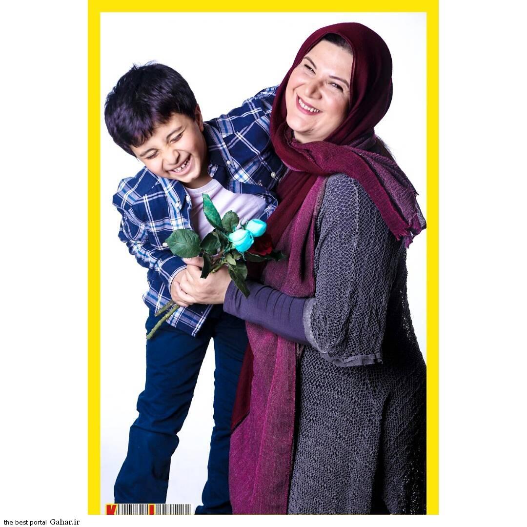 446mmulc19sv1ze4m9du عکس جدید ریما رامینفر و پسرش آیین