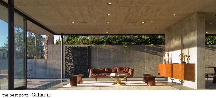 San Diego California villa 14 طراحی ویلایی شیشه ای و مدرن