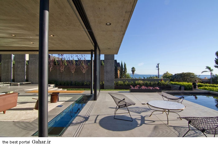 San Diego California villa 2 طراحی ویلایی شیشه ای و مدرن