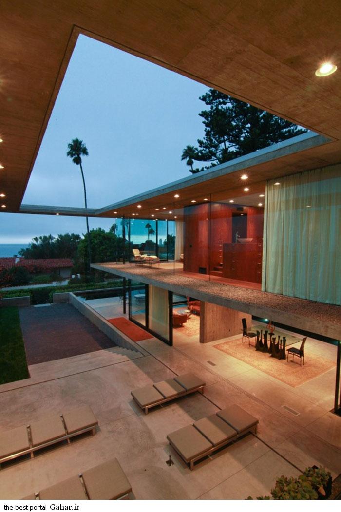 San Diego California villa 20 طراحی ویلایی شیشه ای و مدرن