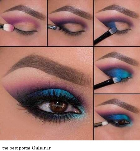 ara 418 www jahaniha com 4 آموزش تصویری و گام به گام آرایش چشم (3)