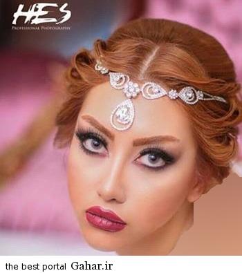 aroos10 2  جدیدترین مدل های آرایش عروس 2015 (1)