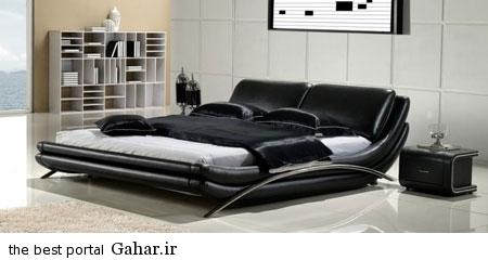 mo20176 مدل های جدید تخت خواب چرمی 2015