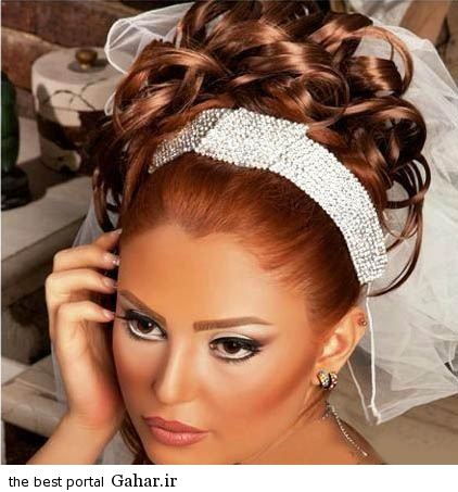 saha3 جدیدترین مدل های آرایش عروس 2015 (1)