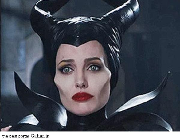 81 سیر تغییر و تحول چهره آنجلینا جولی