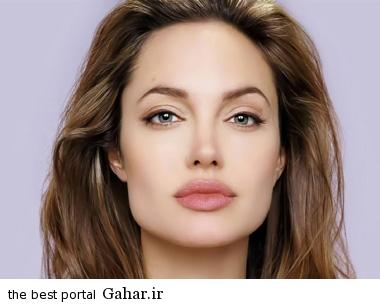 angelinajolie سیر تغییر و تحول چهره آنجلینا جولی