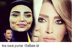 1elham arab عکس جدید الهام عرب در صفحه شخصی اش و متن جالبش