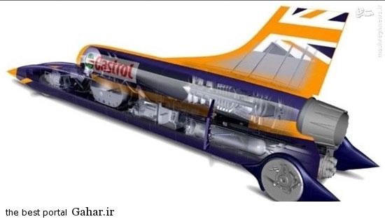 651754 542 عکس / سرعت این خودرو 1600 کیلومتر در ساعت!