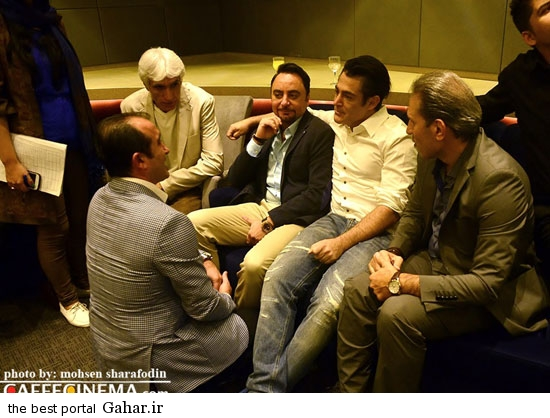 barmigardam13 رونمایی از آلبوم پیام صالحی با حضور محمدرضا گلزار /عکس