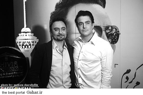 barmigardam15 رونمایی از آلبوم پیام صالحی با حضور محمدرضا گلزار /عکس