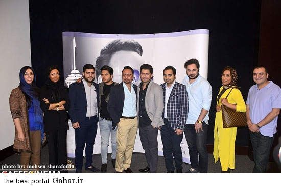 barmigardam17 رونمایی از آلبوم پیام صالحی با حضور محمدرضا گلزار /عکس