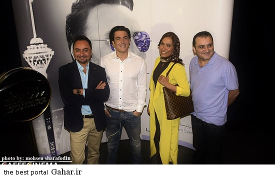barmigardam4 رونمایی از آلبوم پیام صالحی با حضور محمدرضا گلزار /عکس