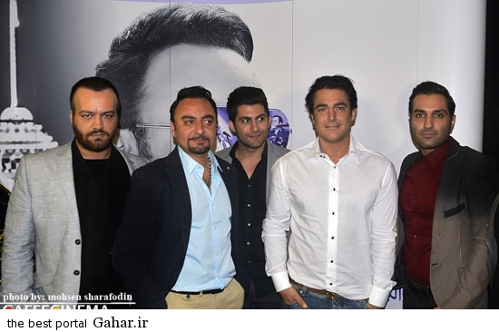 barmigardam6 رونمایی از آلبوم پیام صالحی با حضور محمدرضا گلزار /عکس