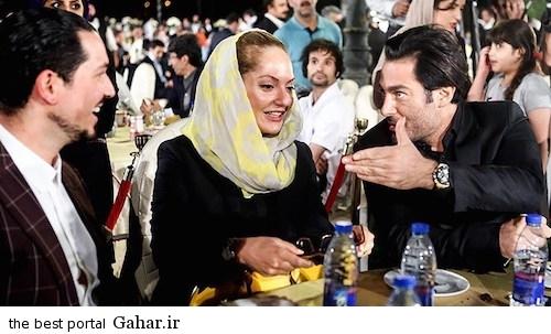cinema3 عکس های جدید مهناز افشار و همسرش در روز ملی سینما