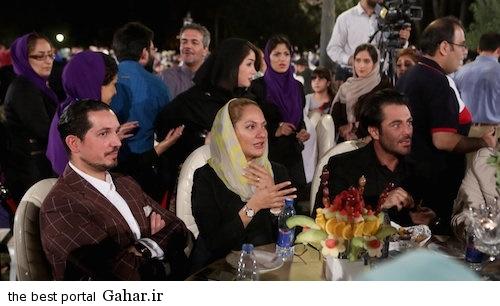 cinema6 عکس های جدید مهناز افشار و همسرش در روز ملی سینما