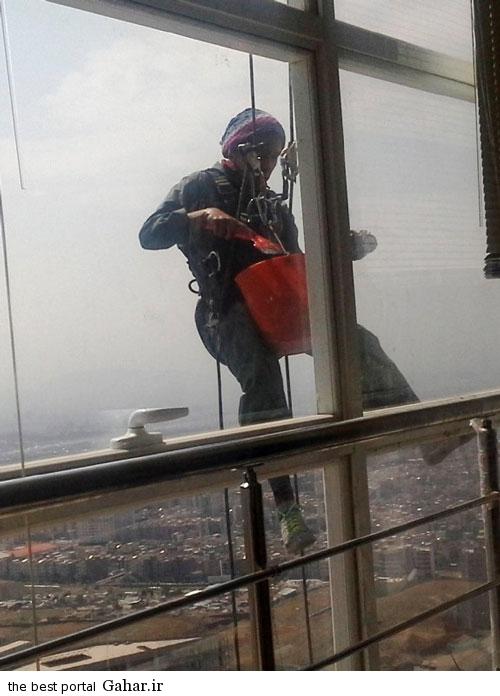 dokhtar ertefa 2 سخت ترین شغل مردانه که یک دختر انجام می دهد / عکس