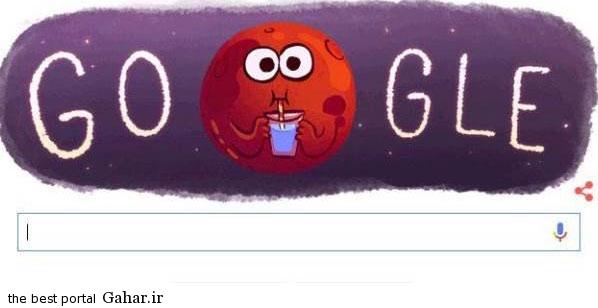 google رونمایی از لوگوی جدید گوگل با موضوع زندگی در مریخ