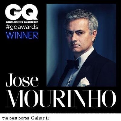 khoze ژوزه مورینیو به عنوان مرد سال 2015 در نشریه مد