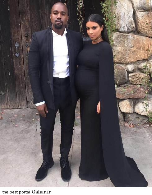 kimkardashian5 عکس های جدید کیم کارداشیان و همسر و دخترش