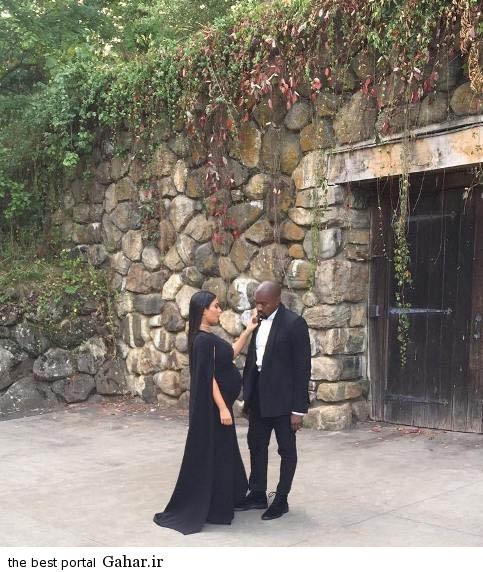 kimkardashian6 عکس های جدید کیم کارداشیان و همسر و دخترش