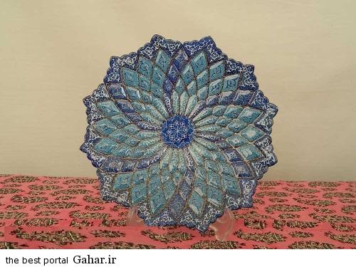 minakari boshghab 5 مدلهای زیبا ظروف میناکاری (بشقاب میناکاری)
