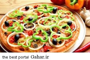pizza1 آموزش تهیه پیتزا گیاهی مخصوص گیاهخواران