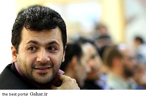 shahram شهرام عبدلی مجری برنامه چمدون شد