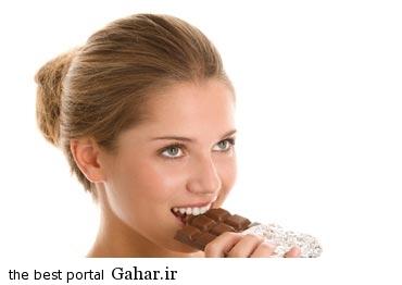 shokolat تاثیر مصرف شکلات بر سلامت خانم ها