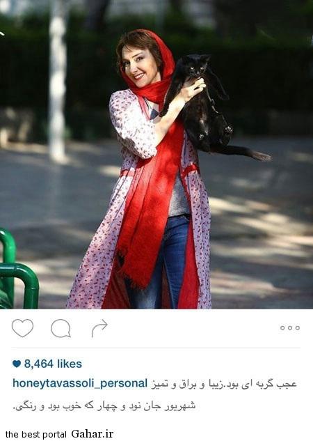 tavasoli2 جدیدترین عکس های هانیه توسلی در اینستاگرام