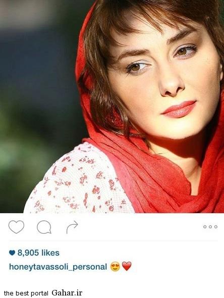 tavasoli5 جدیدترین عکس های هانیه توسلی در اینستاگرام