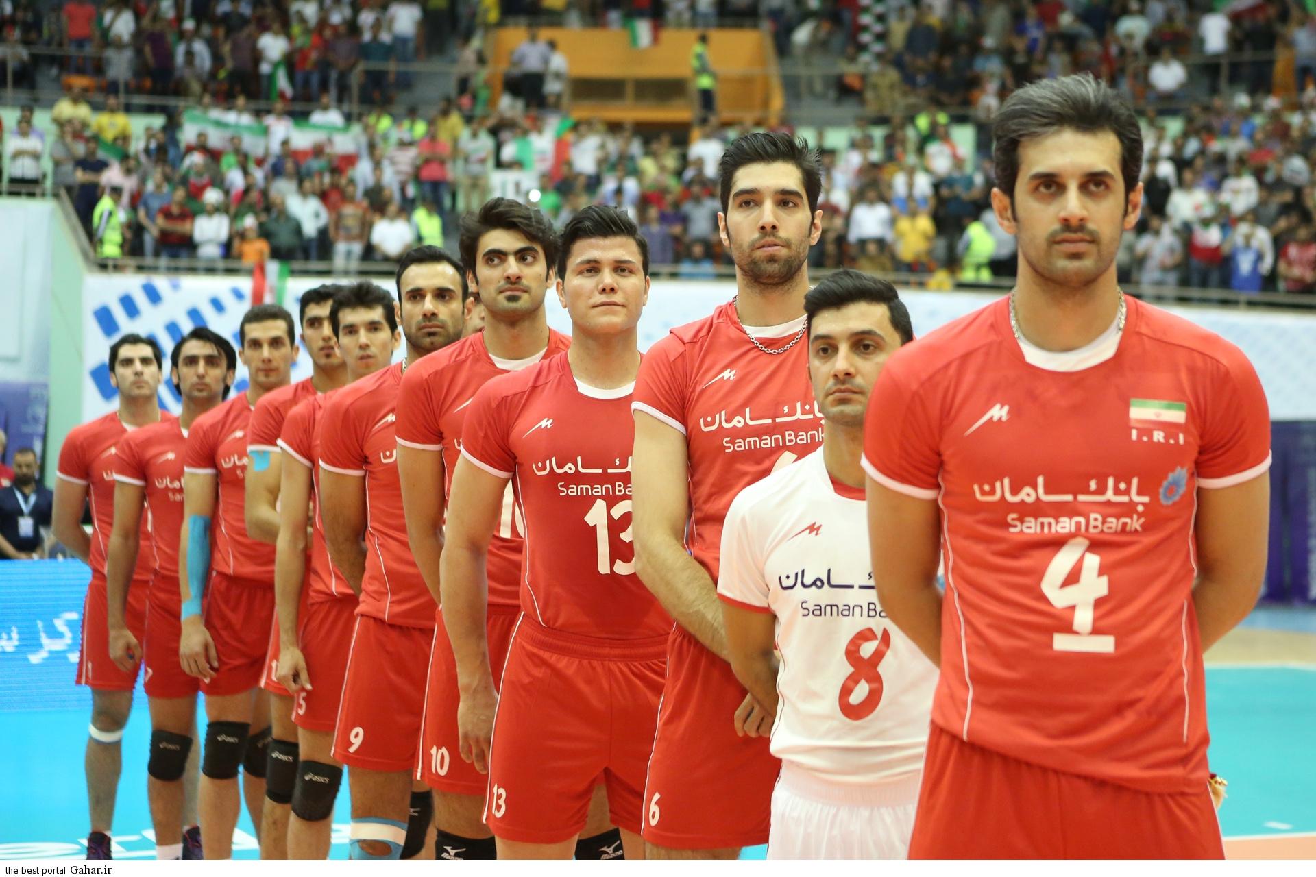 volleyball iran شکست تیم ملی والیبال ایران در برابر آمریکا