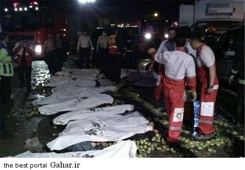673870 230 عکس / خبر تکمیلی تصادف خونین اتباع افغان در قم